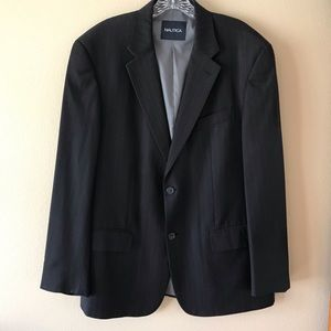 Nautica Pin Striped Sport Coat